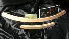 Bilderhalter aus Holz: Grossbild
