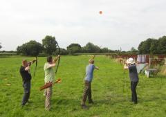 Workshop Bogenschiessen auf fliegende Ziele