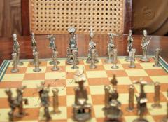 Satz Schachfiguren