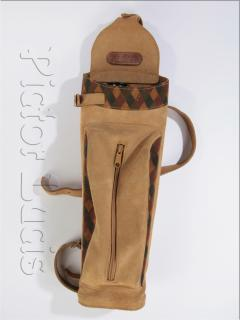Verkaufe Rückenköcher von jPulley aus Wildleder