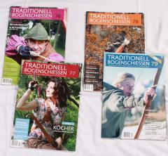 Traditionell Bogenschiessen Zeitschrift