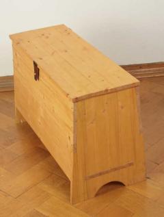 Holztruhe Wikinger Art
