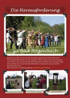 Mittelalterliches Bogenschiessen am 1. Mai